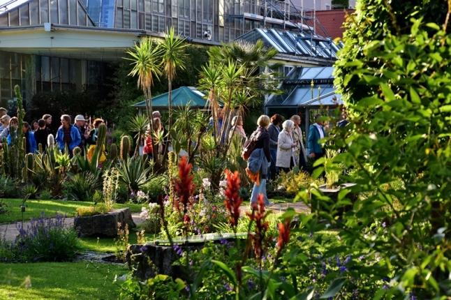 Gartenbau Erlangen botanischer garten erlangen